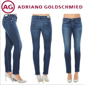 AG ADRIANO GOLDSCMIED- The Stilt Cigarette Jeans